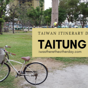 taitung city