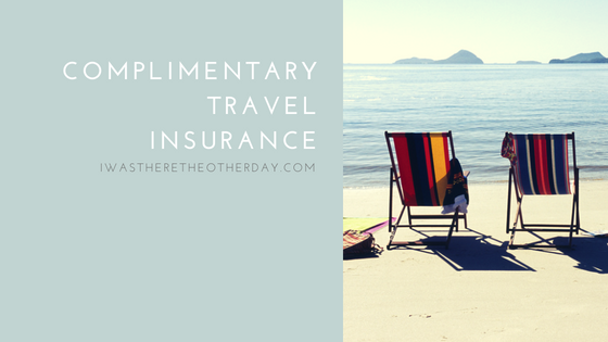 complimentary travel insurance
